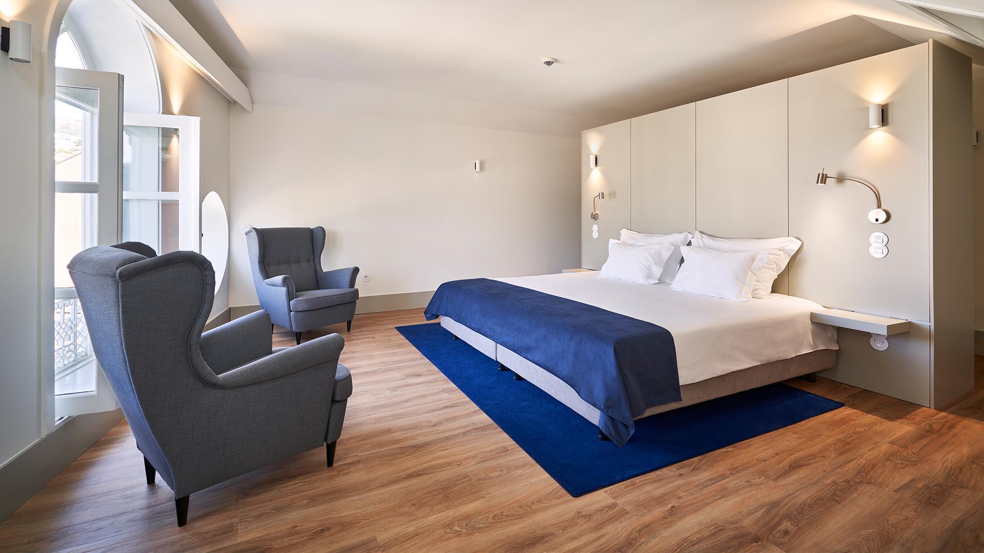 Quarto Deluxe - Ribeira Collection Hotel
