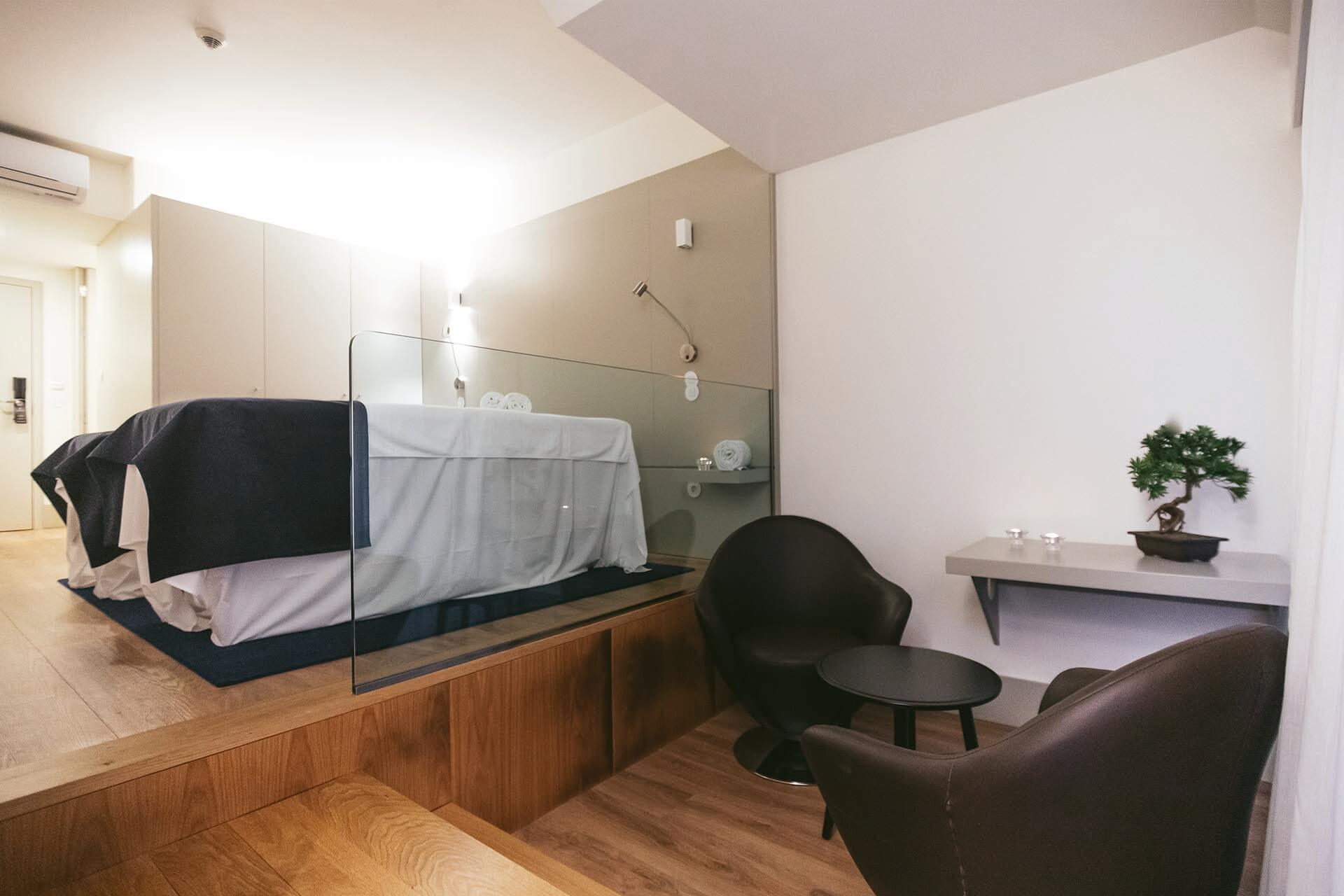 Centro de massagens Spa 7 – Ribeira Collection Hotel – Arcos de Valdevez
