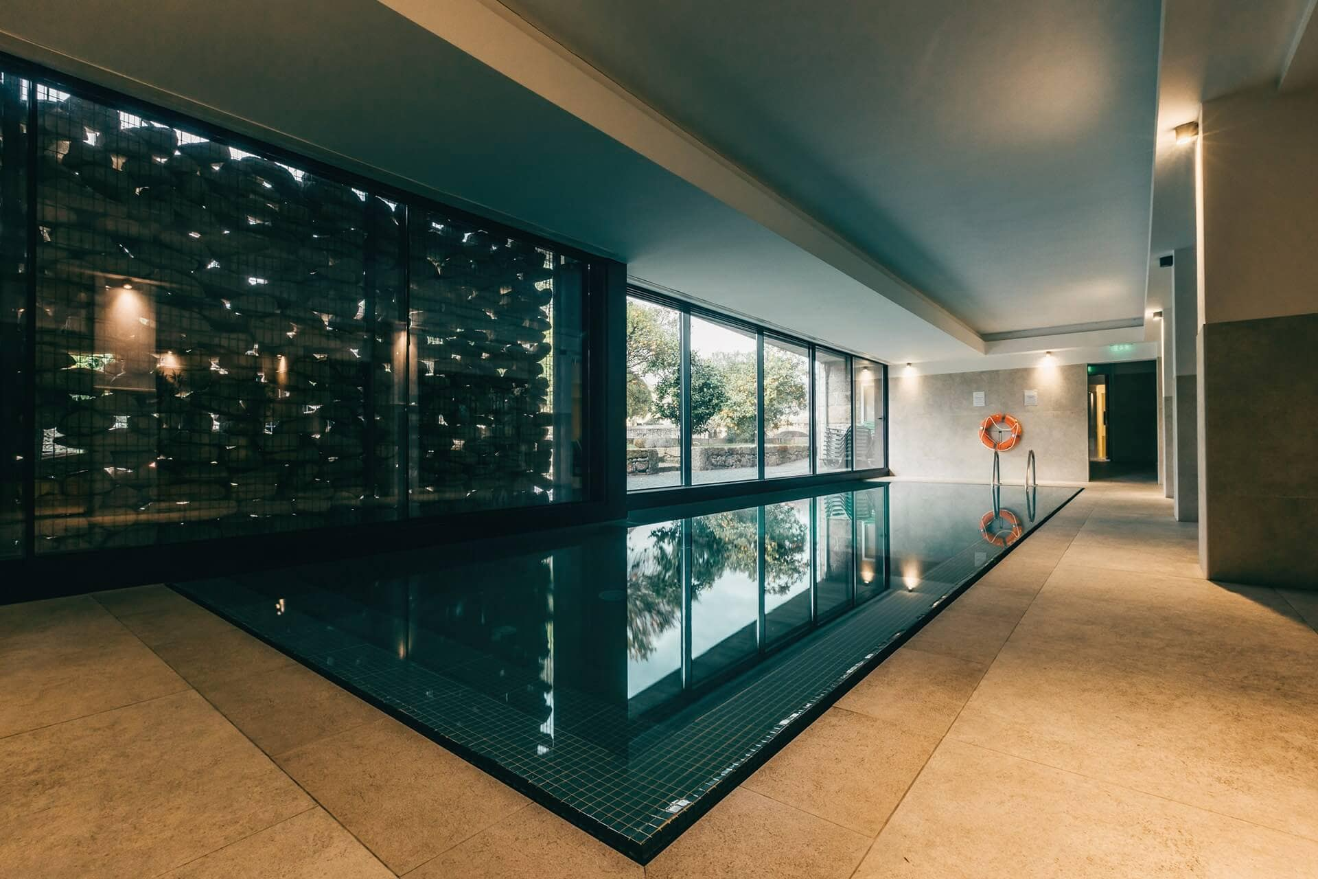 Piscina interior Spa 1 – Ribeira Collection Hotel – Arcos de Valdevez