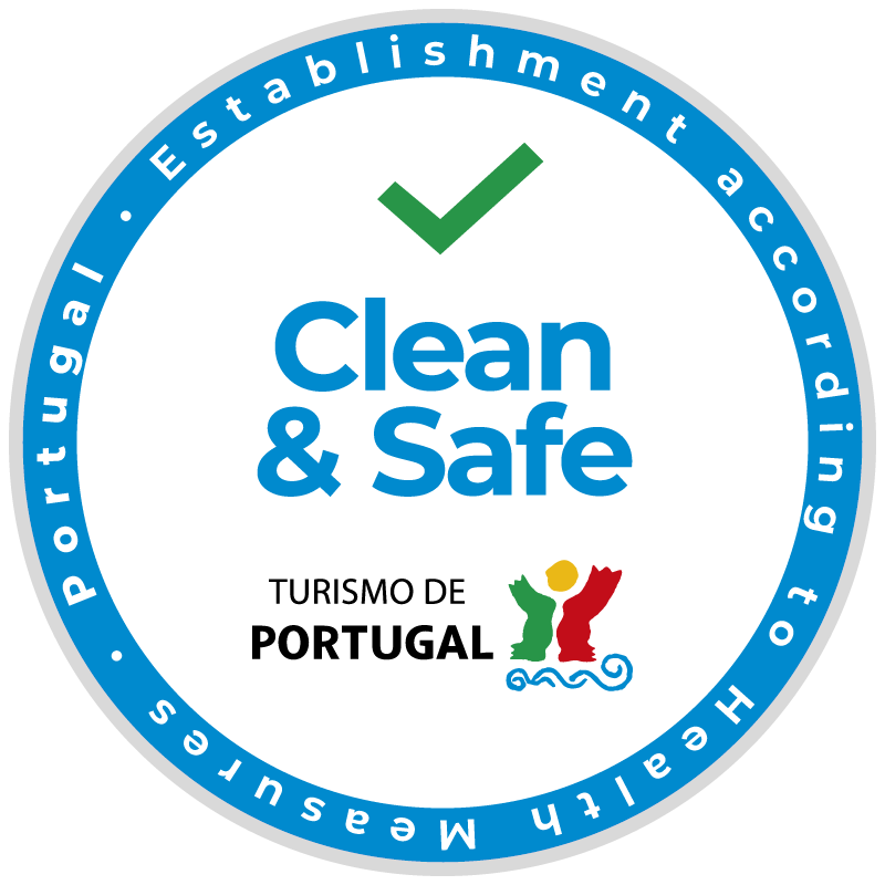 Selo Clean & Safe Turismo de Portugal - Ribeira Collection Hotel