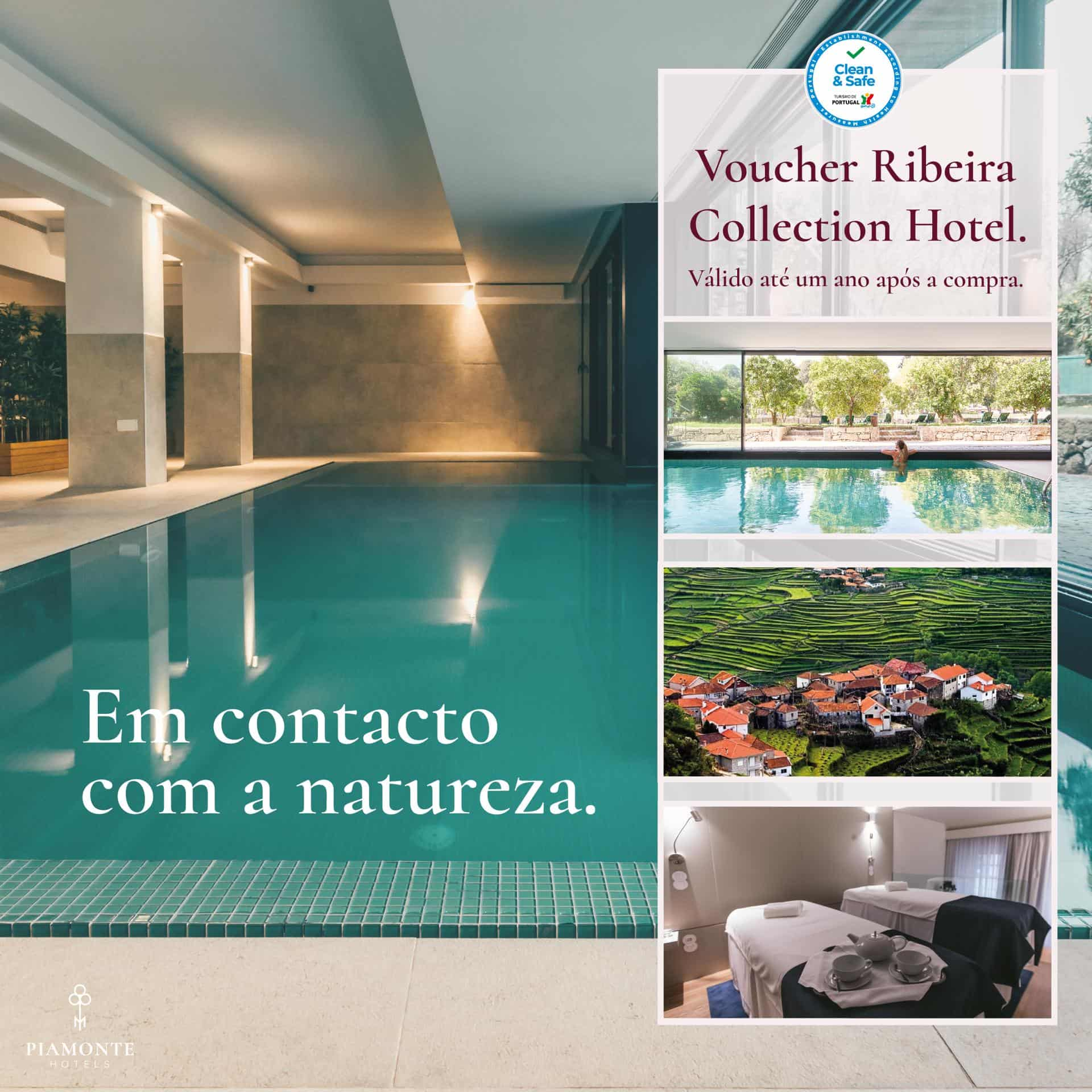 Voucher Ribeira Collection Hotel 2020-2021 - Ribeira Collection Hotel - Arcos de Valdevez